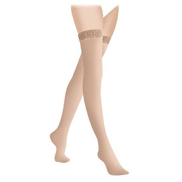 Чулки компрессионные 1 класс Закрытый носок Карамель «LUOMMA IDEALISTA» ID-301