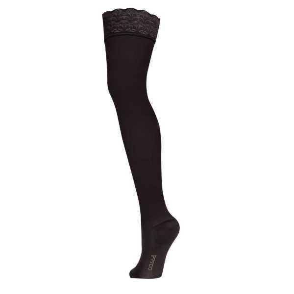 Чулки компрессионные 2 класс Черный Закрытый носок «LUOMMA IDEALISTA» ID-301W