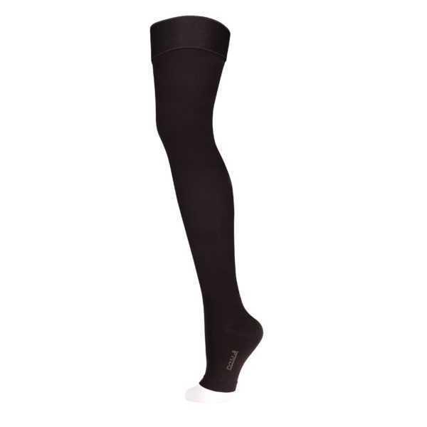 Чулки компрессионные 1 класс Черный закрытый носок ID-310