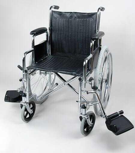 Кресло-коляска для инвалидов, серия 1600:46 см
