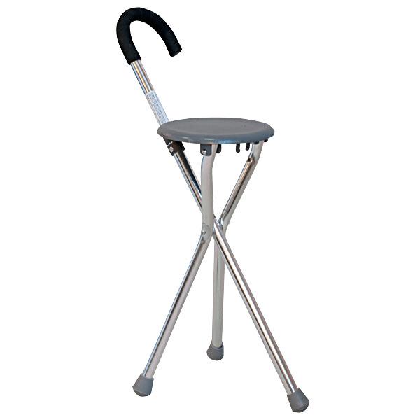 Трость -стул трехопорная