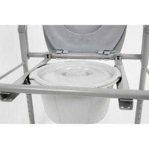 Кресло-туалет складное компактное арт.10580