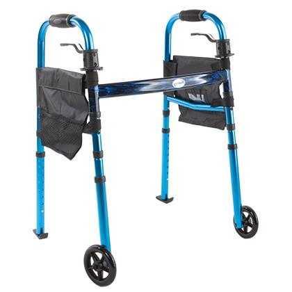 Опоры-ходунки для пожилых и инвалидов на опорах и колесах арт. 10181