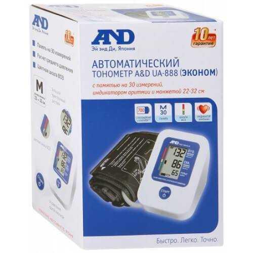 Тонометр UA-888 A&D (эконом.)