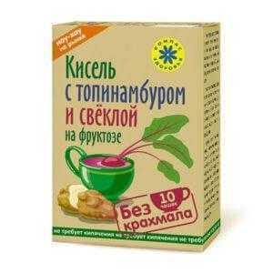 """Кисель на фруктозе """"С топинамбуром и свеклой"""" 150гр*40"""
