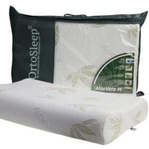 Подушка с памятью формы OrtoSleep Classic Aloe Vera M