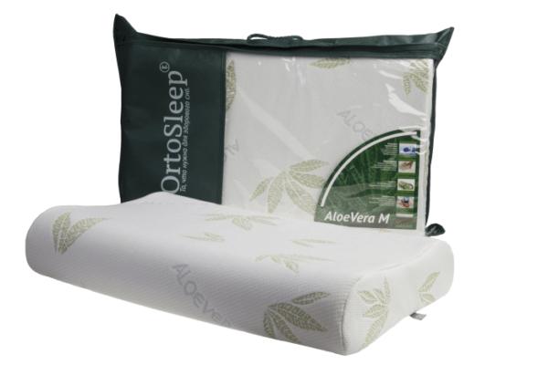 Подушка с памятью формы OrtoSleep Classic Aloe Vera L