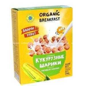 Завтраки сухие Кукурузные шарики 100 гр.