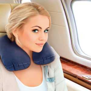 Подушка для путешествий LumF-510 Синий