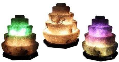 Солевая лампа прометей (белая соль)